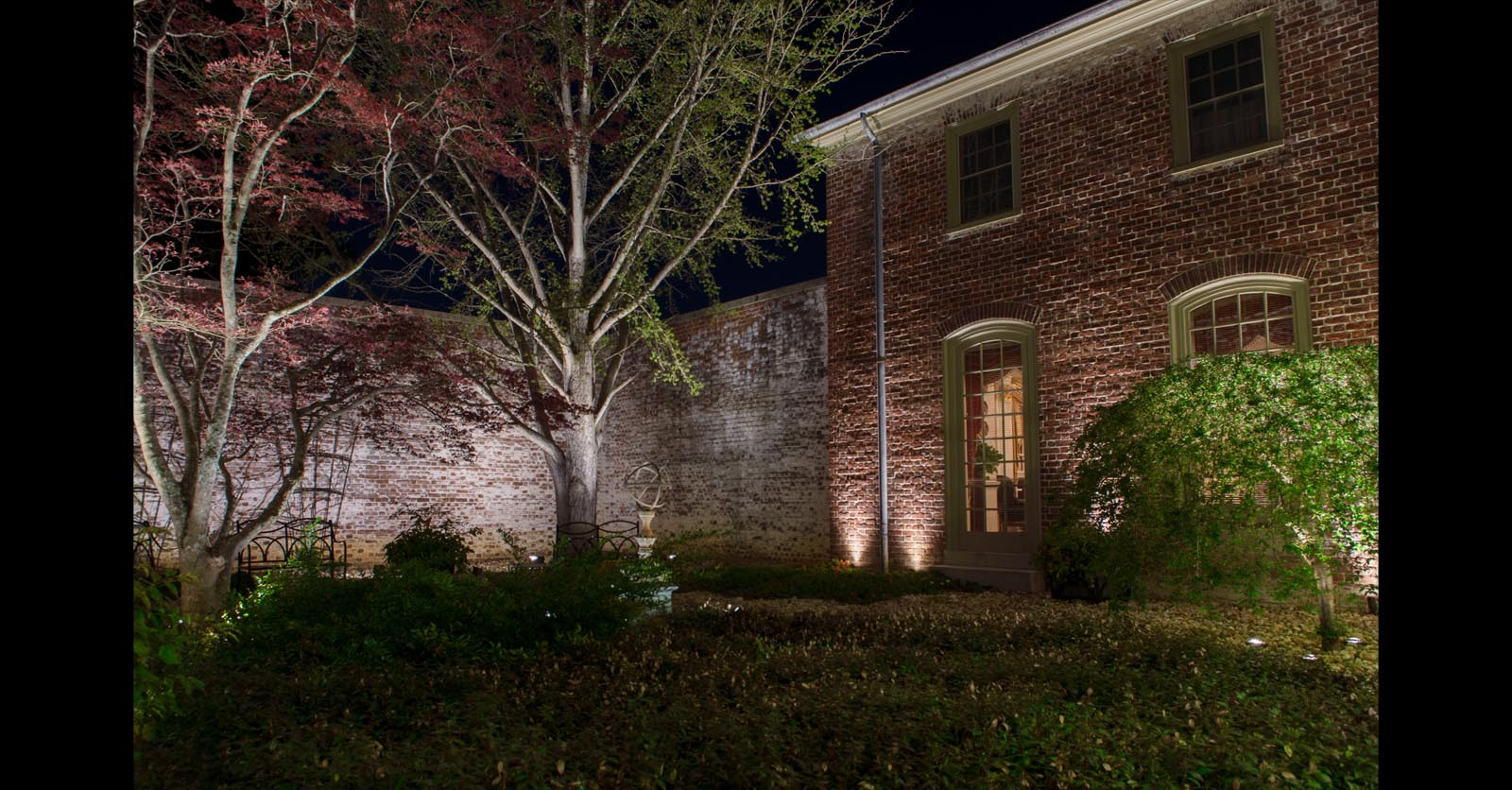 landscape lighting contractors hampton va