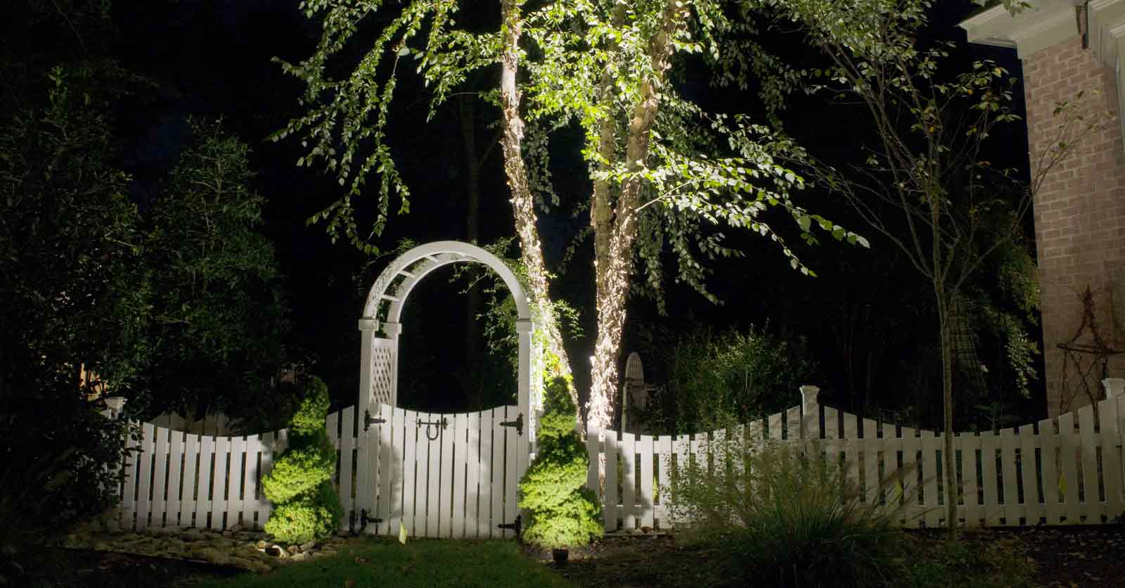 hampton roads garden lighting