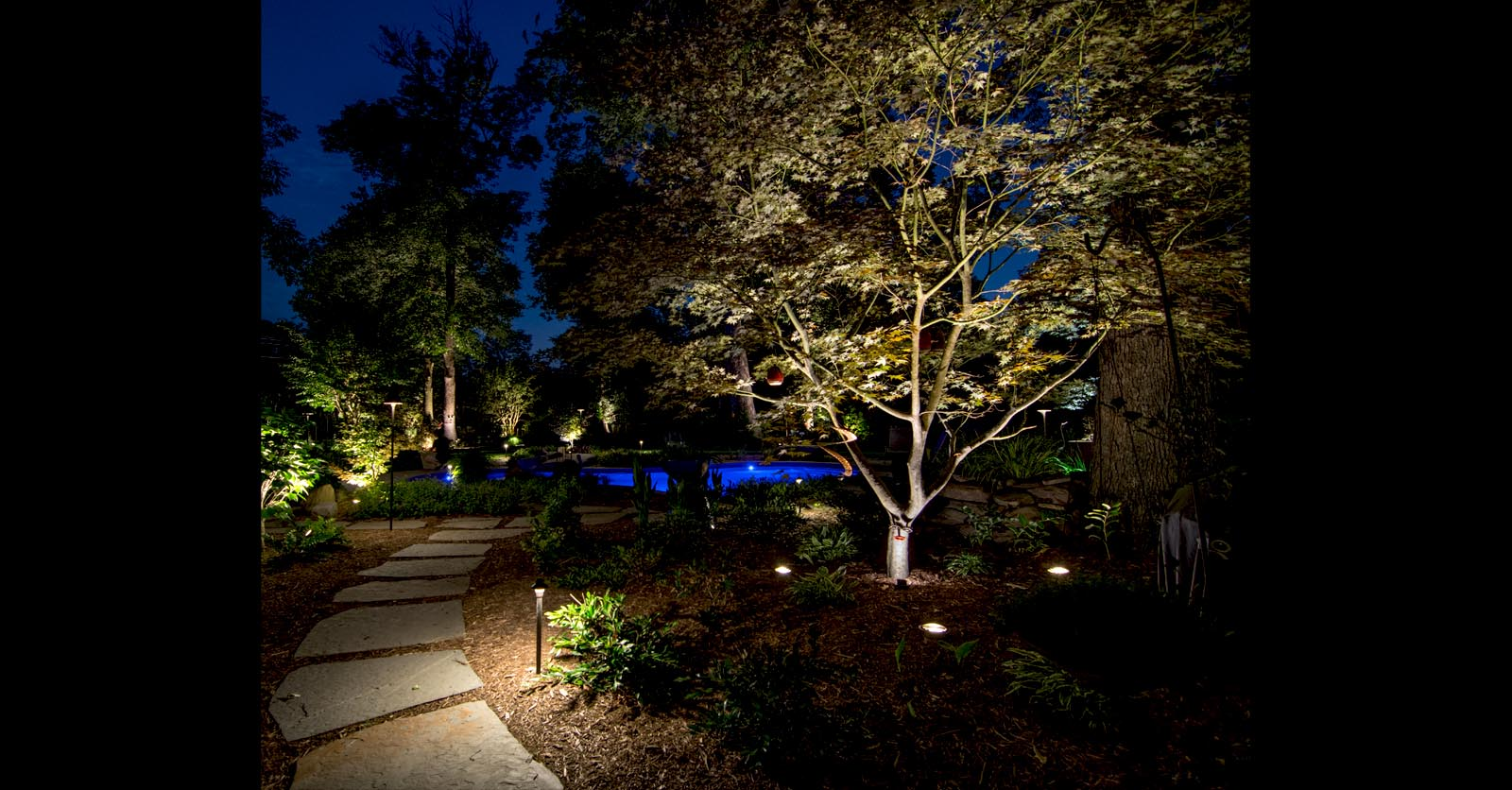 landscape lighting accents newport news