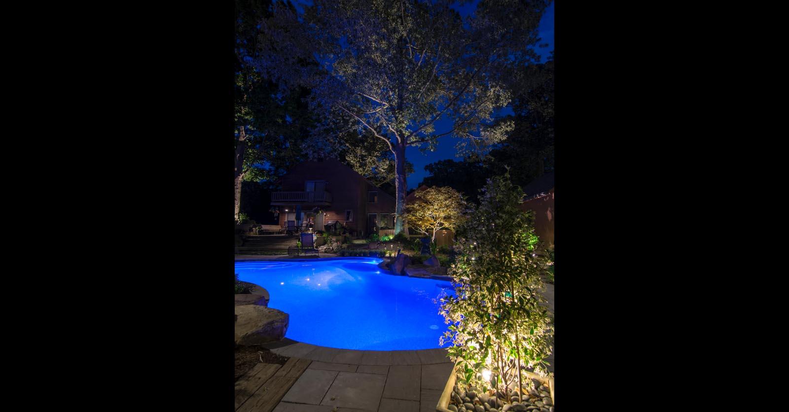 pool lighting accents hampton roads