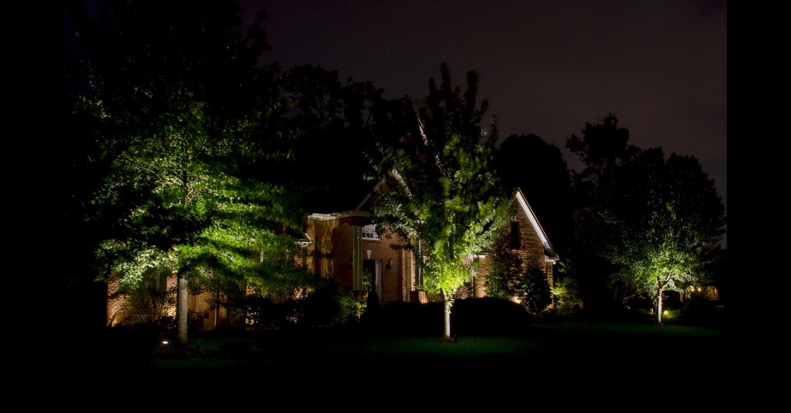 residential landscape lighting poquoson