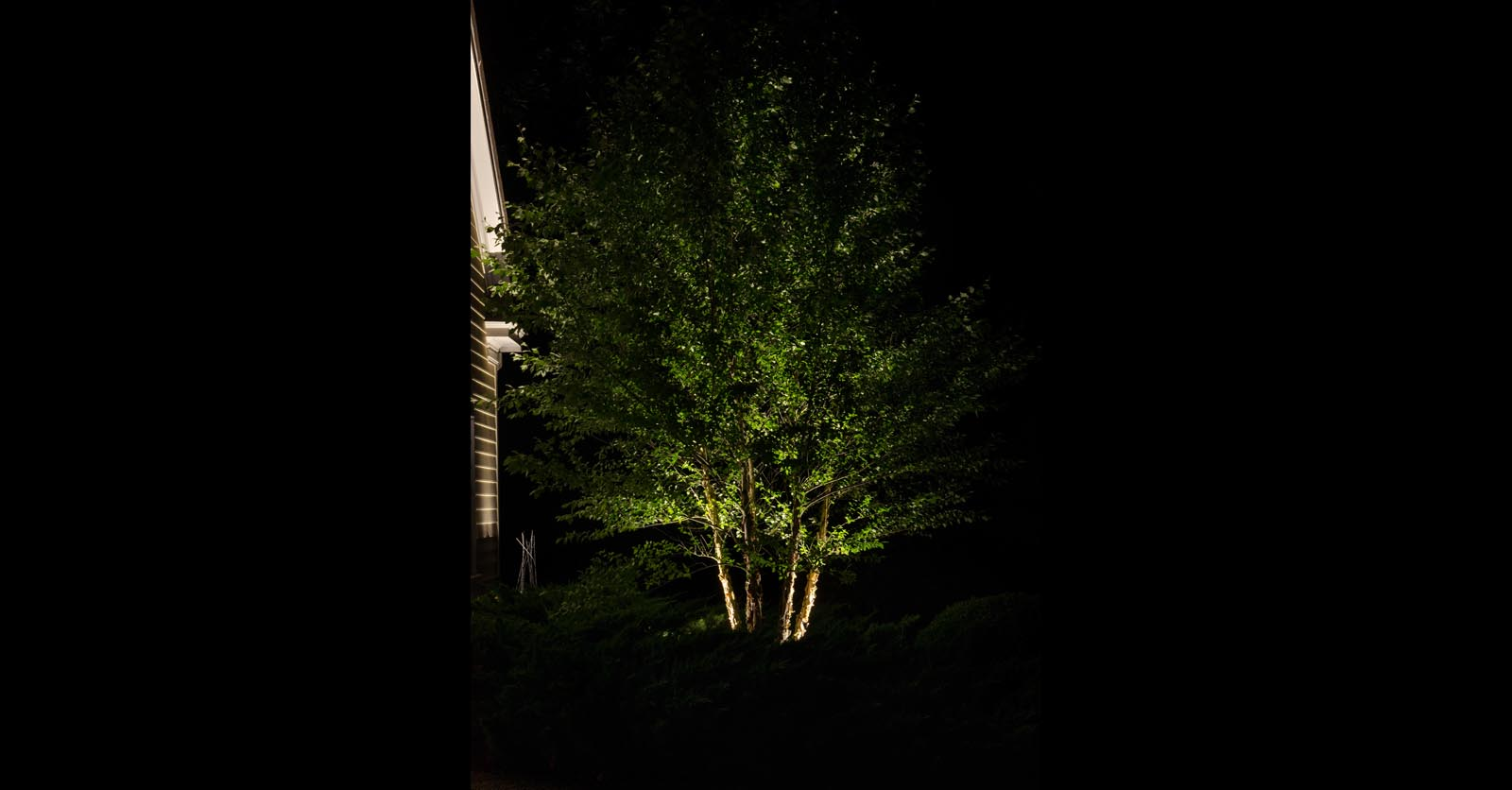 landscape lighting installation james city county