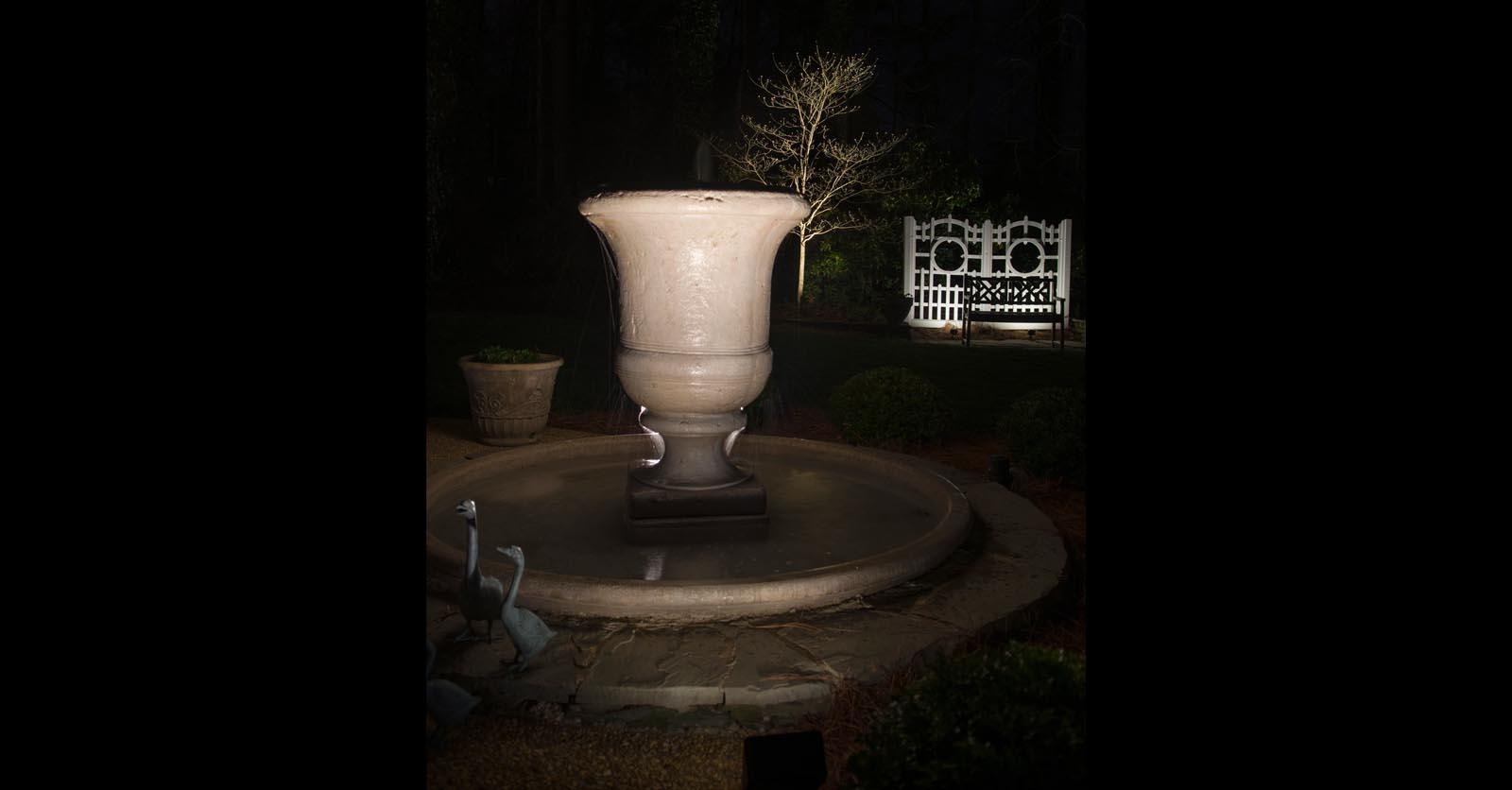 water feature lighting chesapeake