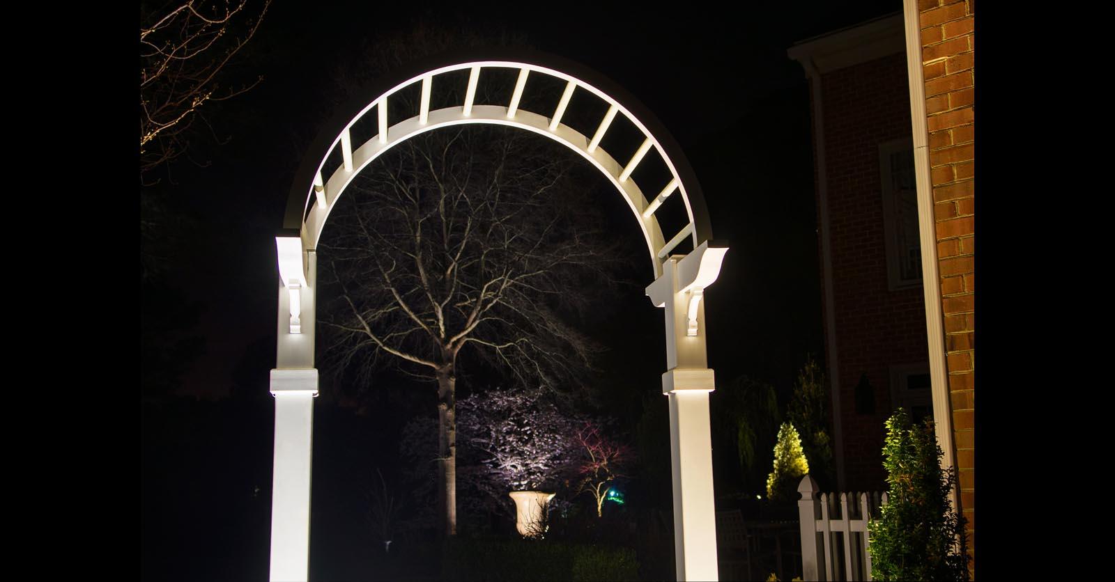 decorative lighting installation hampton va