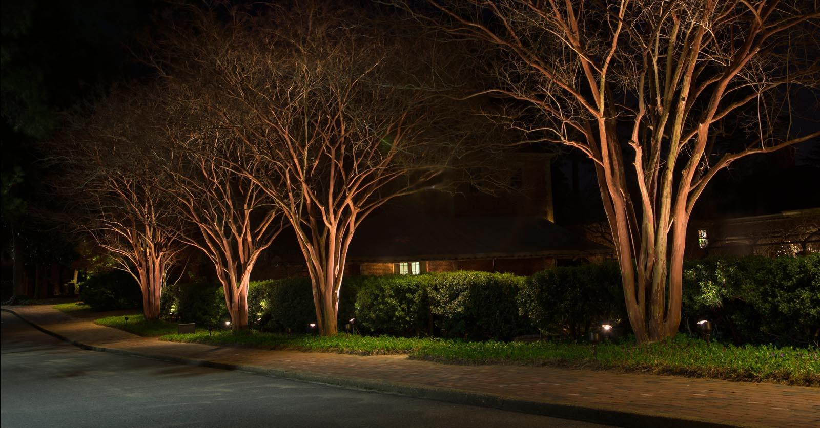 landscape lighting norfolk