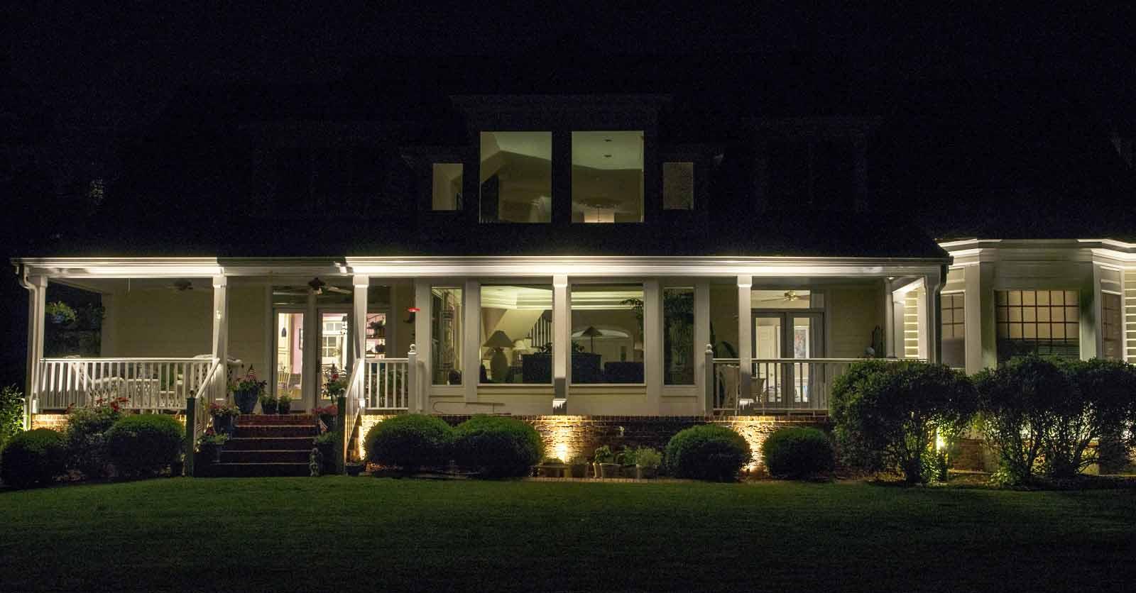 chesapeake outdoor lighting contractor