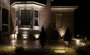 residential landscape lighting applications