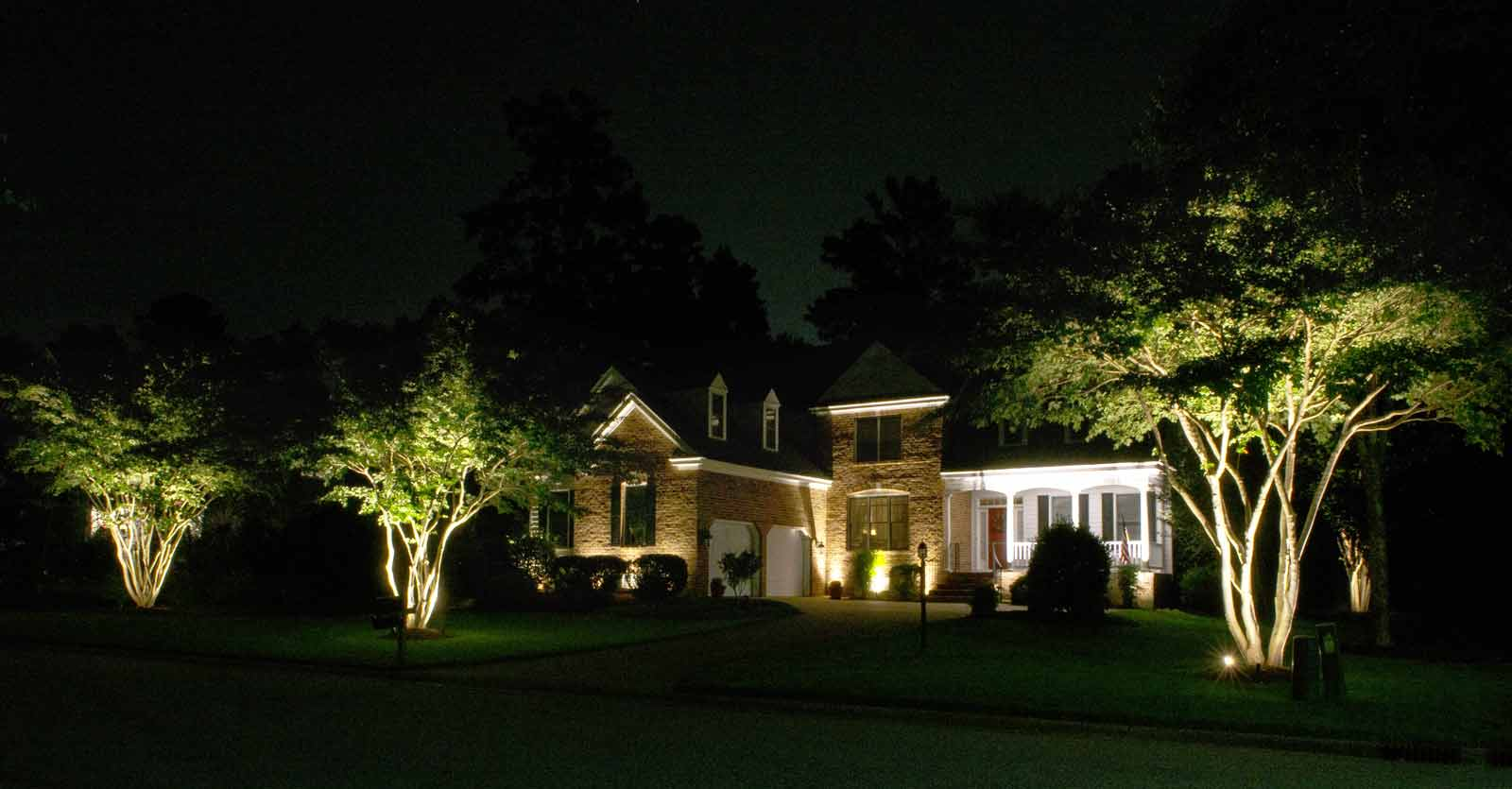 residential exterior lighting hampton