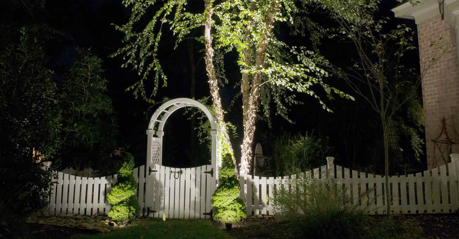 hampton roads garden lighting