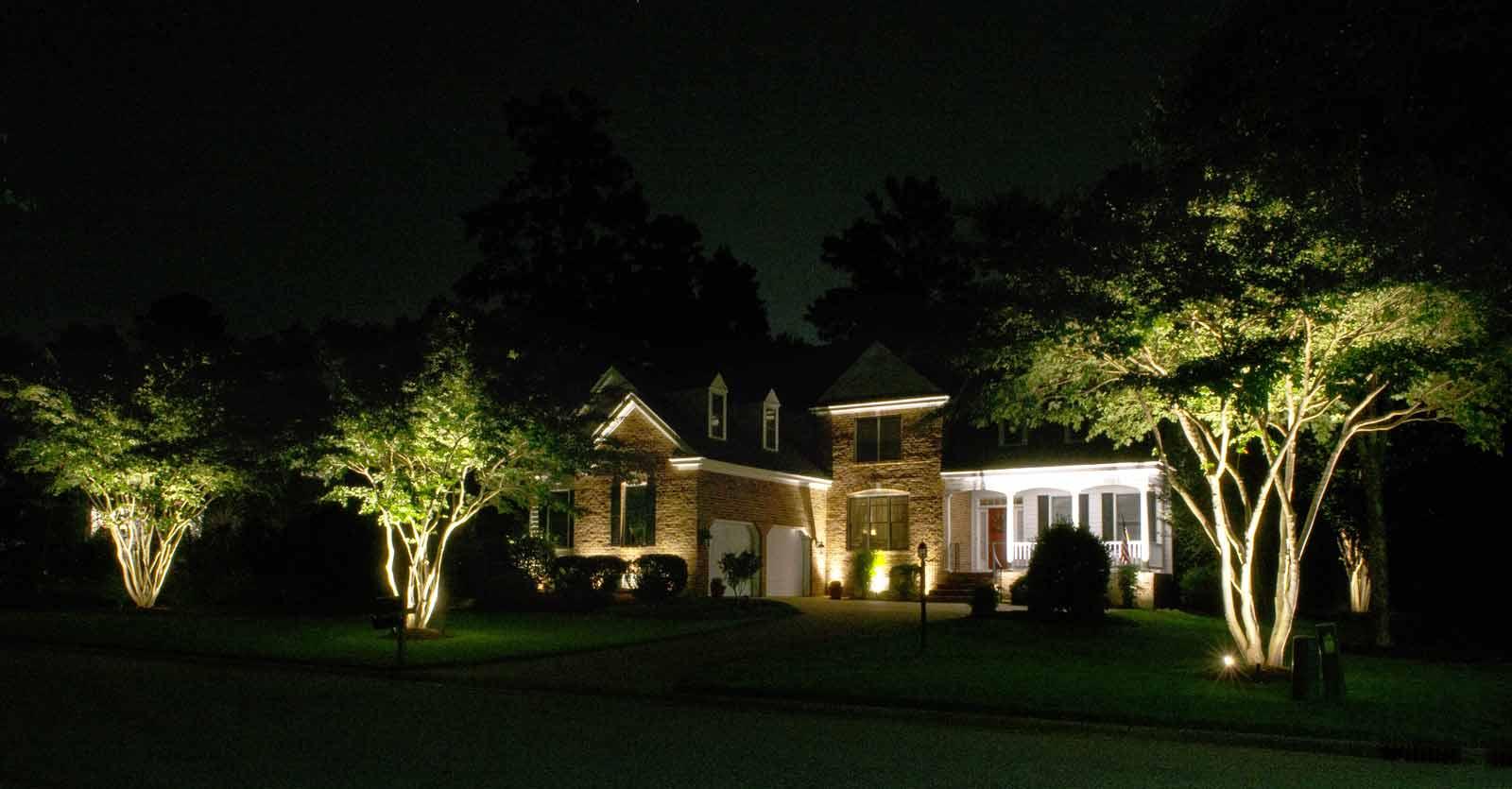 yard lighting contractor hampton