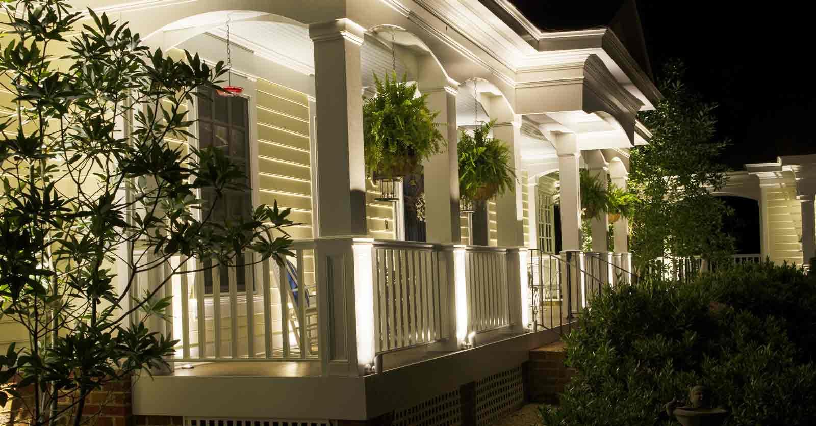 virginia exterior lighting contractor