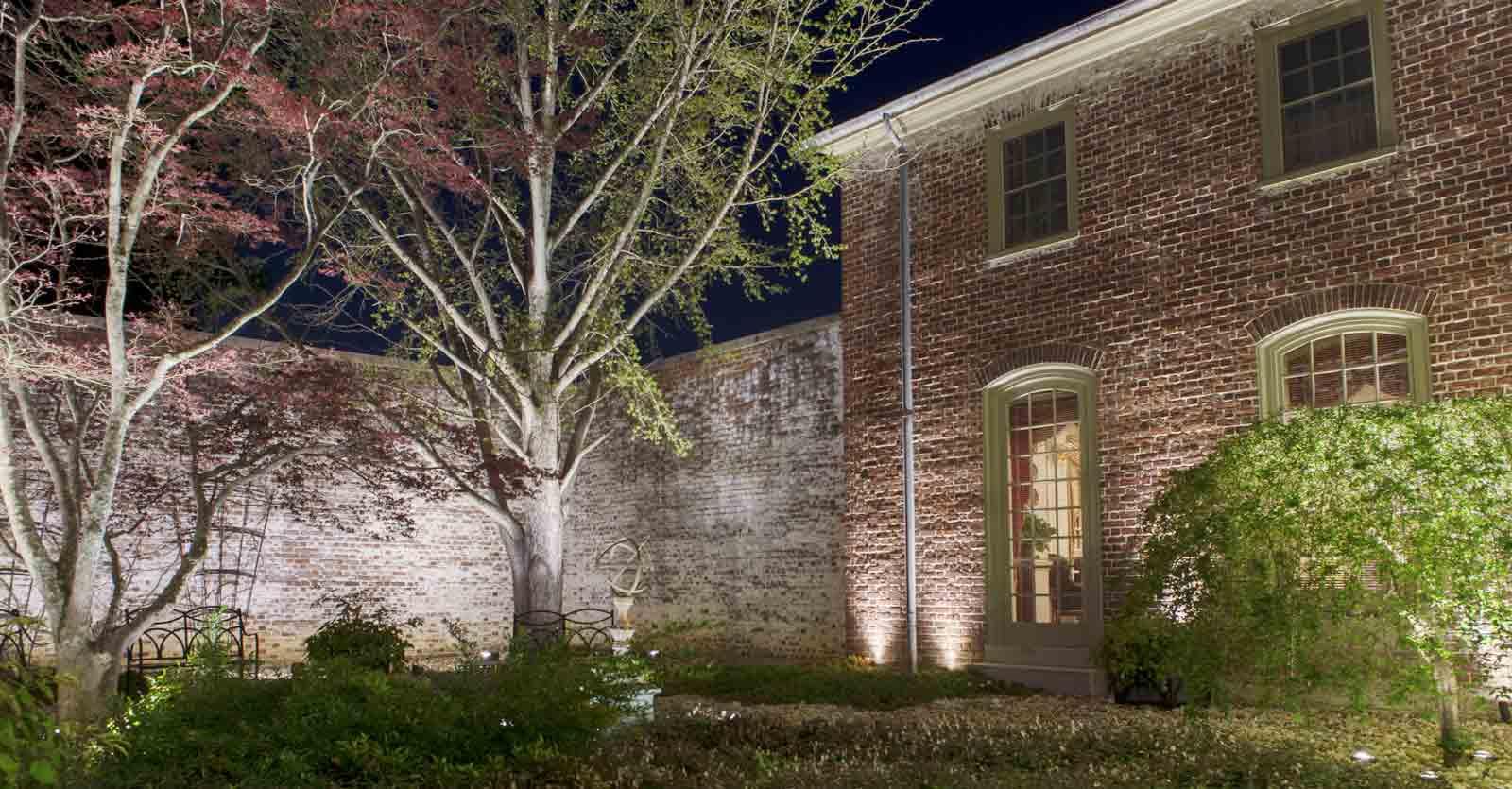 james city county garden lighting